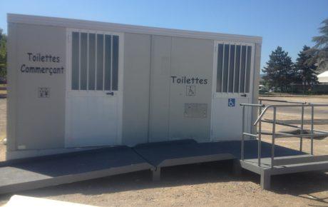 Cabines sanitaires autonomes
