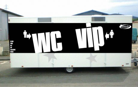 Roulottes sanitaires VIP
