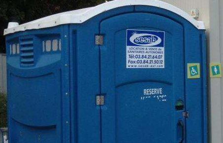 cabine sanitaire autonome PMR